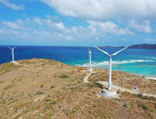 Wind power on Necker Island