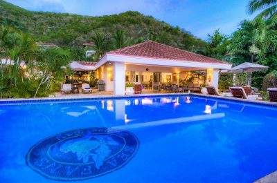 beach front villa, bvi villa, new home in bvi, bare foot to beach, ocean frontliving