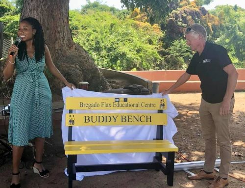 Buddy Benches  Program Launch in Virgin Gorda