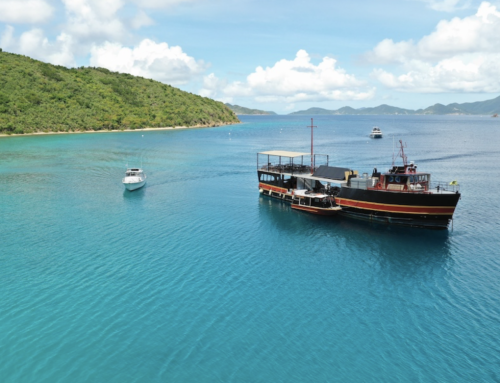 A Legendary Caribbean Floating Bar Is Back in the BVI