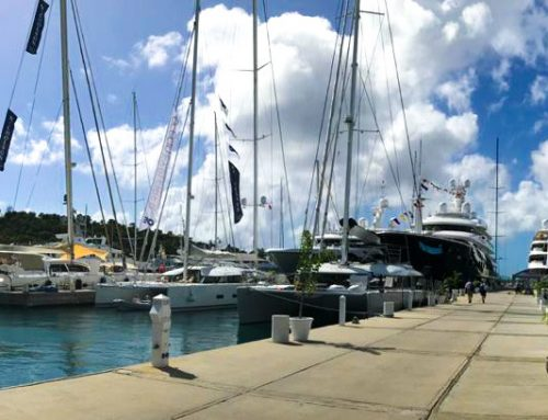 Coldwell Banker present at Antigua Boat Show