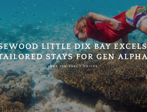 Rosewood Little Dix Bay Excels in Tailored Stays For Gen Alpha
